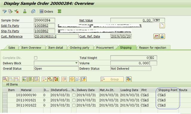 Functions Related To Shipment In Order Of Sap Sd Basic Knowledge I Develop Paper