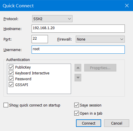 [tutorial] installing the connection of CentOS, Linux virtual machine and SecureCRT in VMware