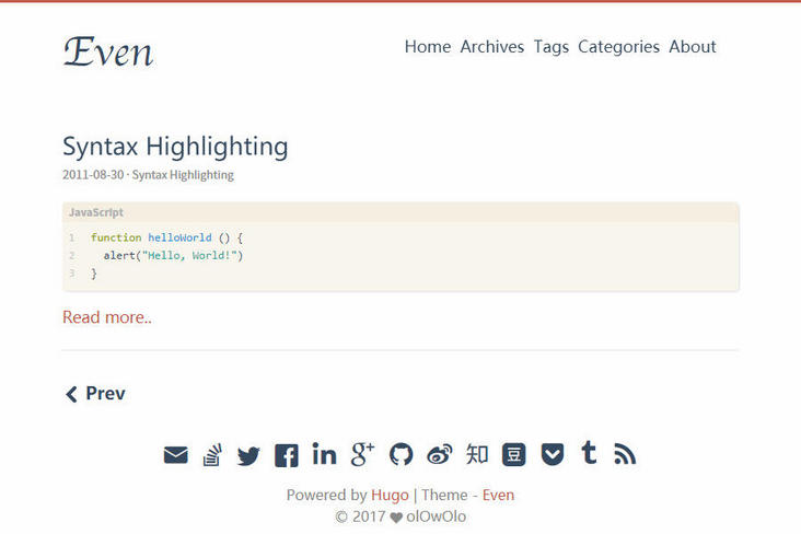 Playing through the blog sites, I sorted out Hugo and its popular style themes