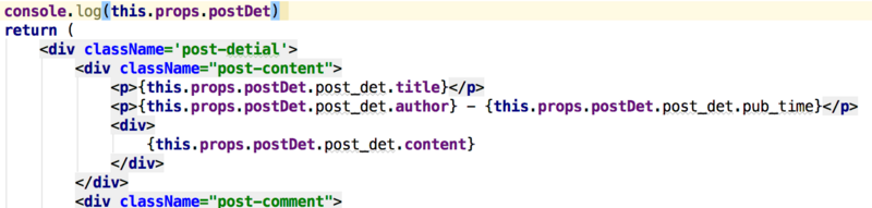 React render is rendered twice, one is the original state data, and the other is the newly acquired data