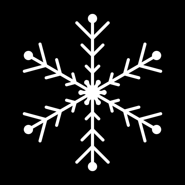 6. painting snowflakes in the sky with canvas 1
