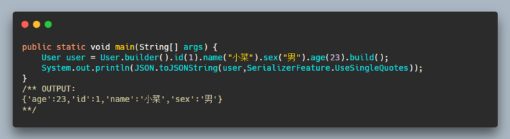 Understand fastjson, recognize this article!