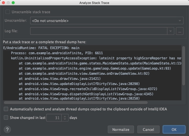Tips | debugging application in Android studio