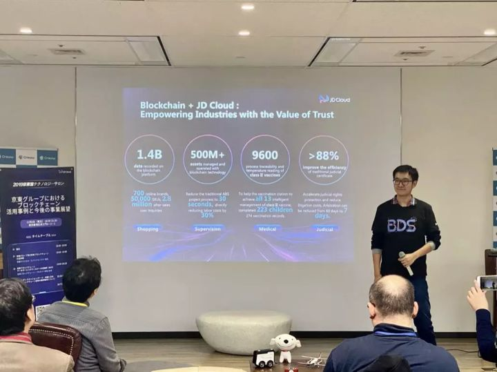 Technology Salon going to Japan: sharing the practice and innovation of Jingdong blockchain