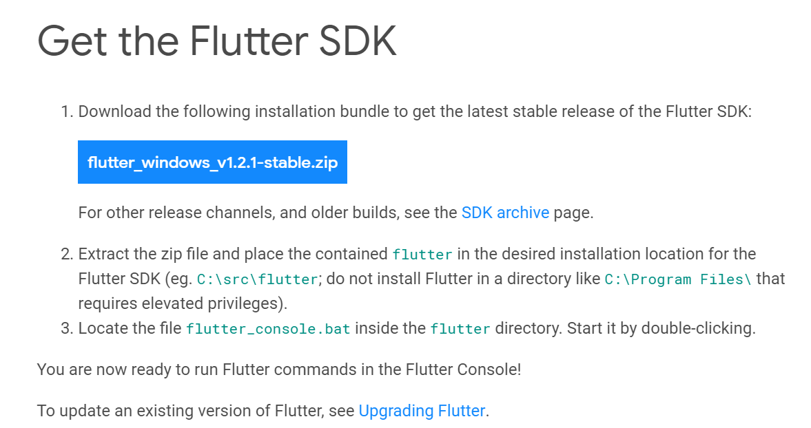 Vscode + flutter + Android Studio development environment