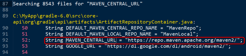 build.gradle Principle analysis of Maven central implementation of repositories