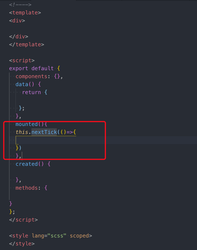 Editor vscode use experience