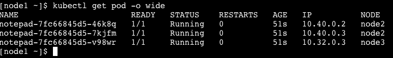 Using kubernetes to deploy a notepad project