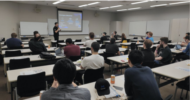 Activity review: quarkchain participated in Ethereum development conference to share the latest progress of public chain technology