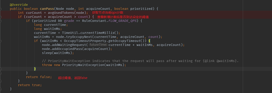 How does sentinel do current limiting