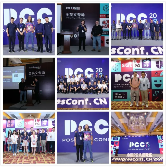 Historical review | create PG global ecology! PostgresConf.CN2019 The meeting was held