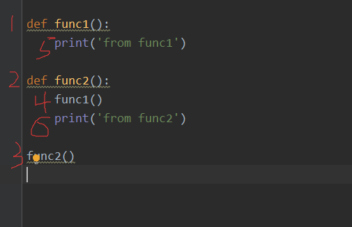 Nesting, namespace, and scope of functions