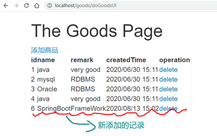 07 springboot + mybatis + spring technology integration to realize crud operation of commodity module