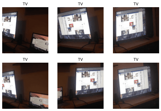 Woman, man, camera, TV: how to make a complete deep learning application