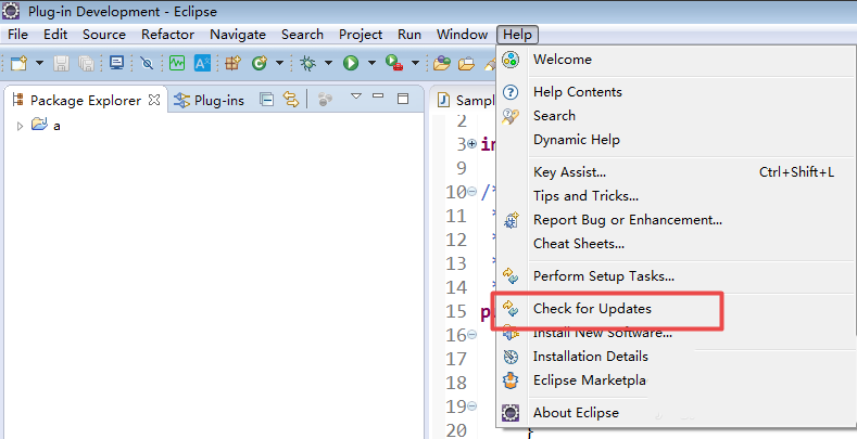 How to update eclipse version and plug-in manually?