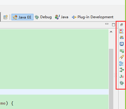 How to open the properties and servers windows in eclipse?