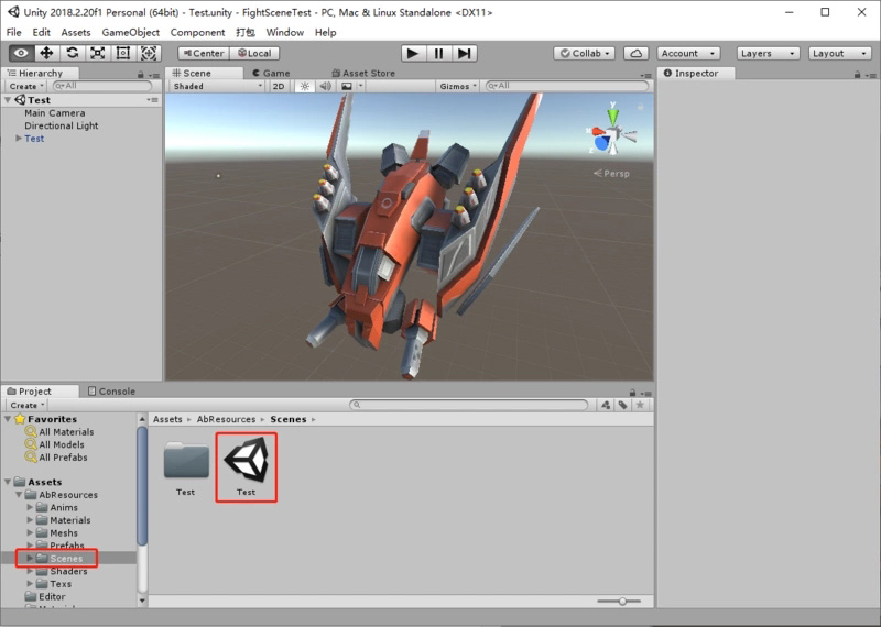 Unity C# Packaged AssetBundle and Scenario Details | Develop