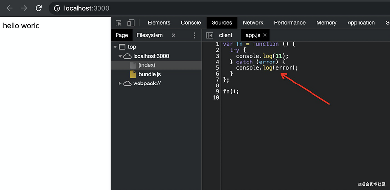Local development and debugging of NPM package