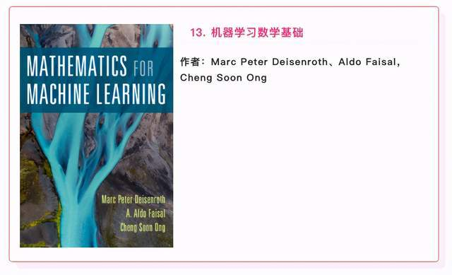 2021 book list recommends 15 AI books with high scores, all for free