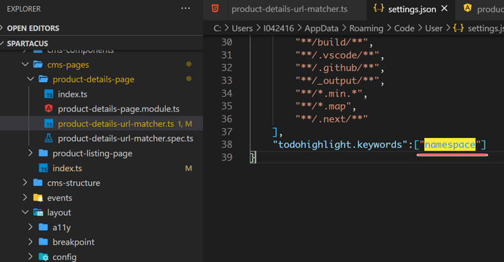 This paper introduces a visual studio code extension that can highlight any keyword