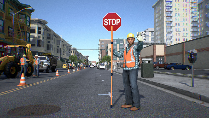 Reach for the car! Machine learning teaches automatic driving to understand pedestrian gestures.