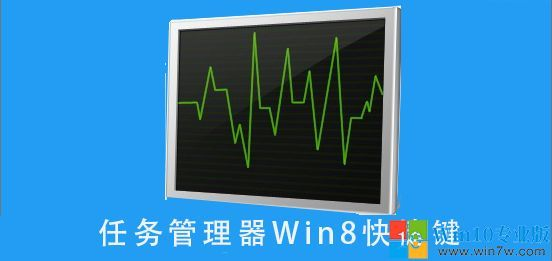 Shortcut key of win8 system task manager -- win7w.com
