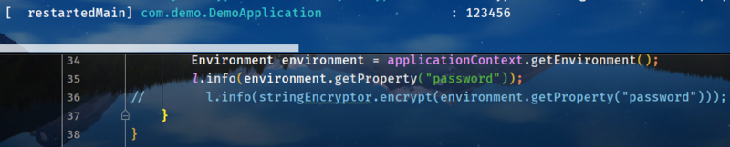 Encryption in spring boot application.properties