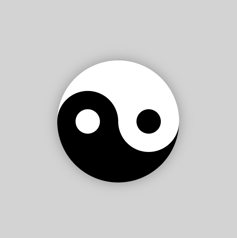 Front end daily combat work 175: pure CSS Yin Yang pattern