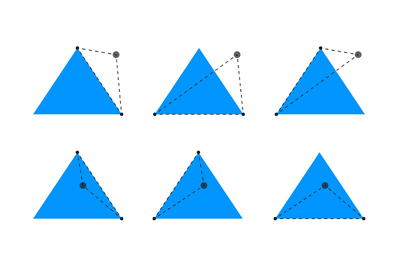 Collision detection: Triangle