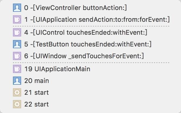 IOS event handling, it's enough for me~