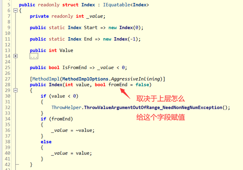 There's sliced grammar candy in C #. It's amazing