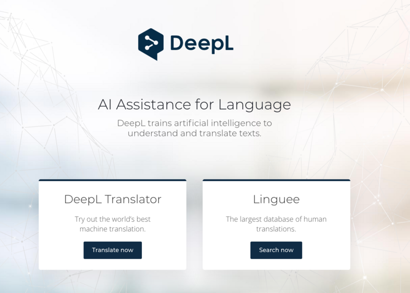 Deep: a German company that surpasses Google and Microsoft in Translation