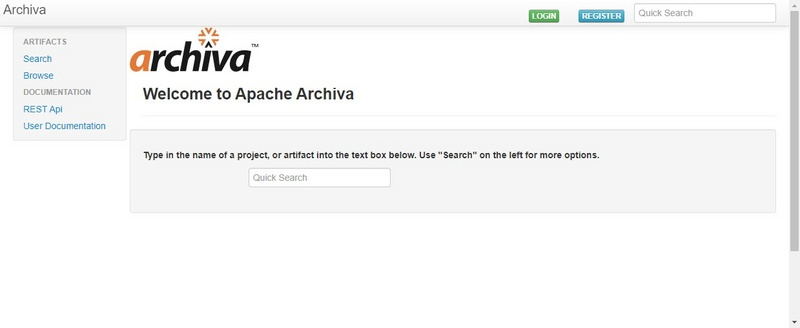 How Maven publishes local projects to archiva