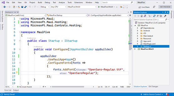 . net Maui preview 5 function Preview