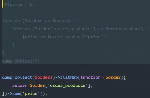 Collection of laravel