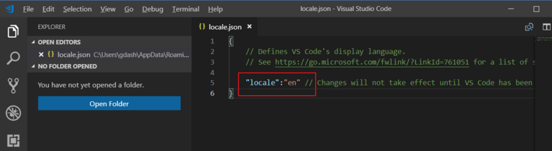 Complete steps of setting vscode to Chinese