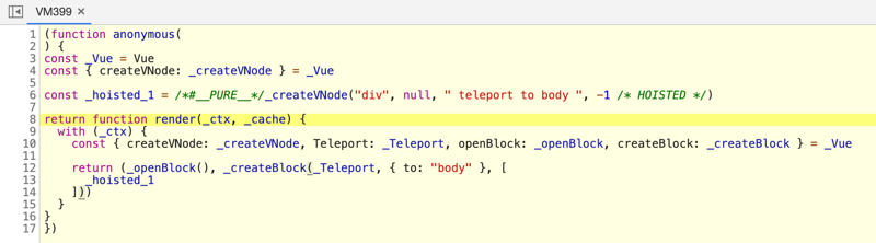Practice and principle of vue3 teleport component