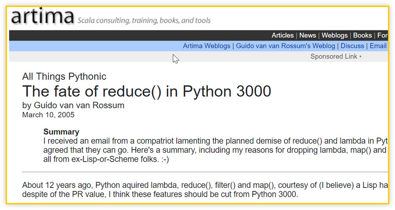 Why does the father of Python dislike lambda anonymous functions?