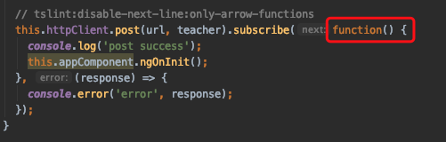 On the scope of this from lambda expression and self = this
