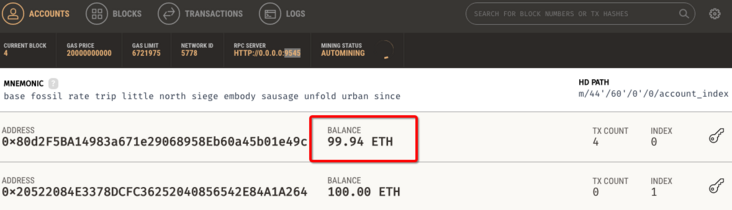 Using PHP to deploy Ethereum smart contract to develop DAPP