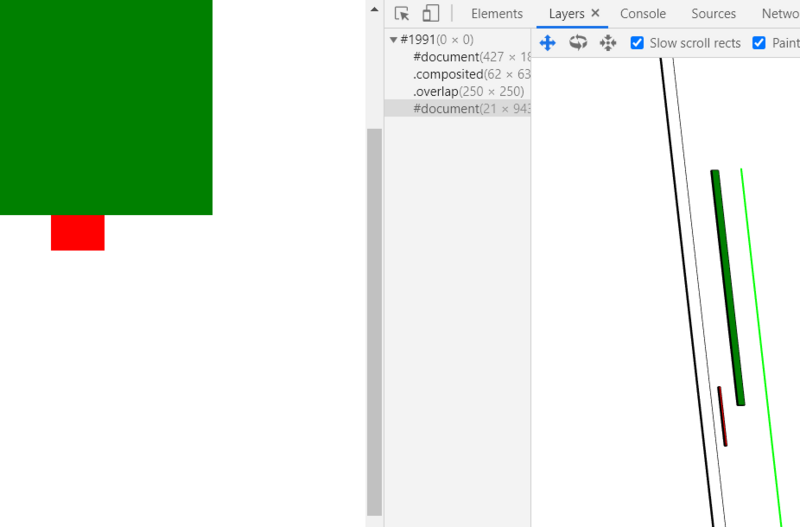 Animation development browser rendering related