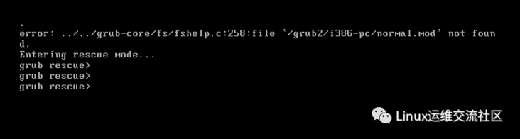 Centos8 delete boot directory recovery