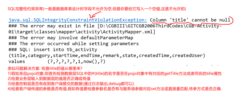 Design and implementation of activity module in springboot project?