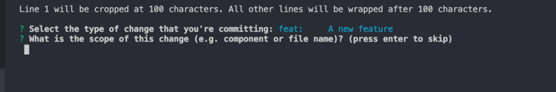 Git commit specification that you may have ignored