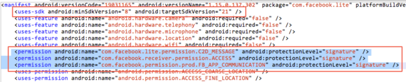 Provider component security in Android security development