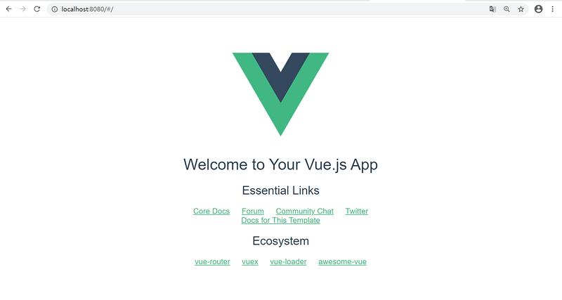 Build a scaffold (Vue CLI) and create a project