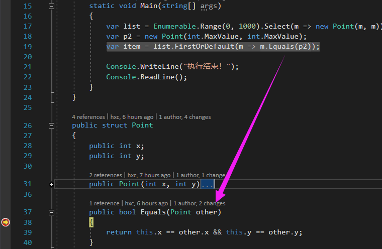 Do not forget to override equals for custom value types, otherwise both performance and space will be in trouble
