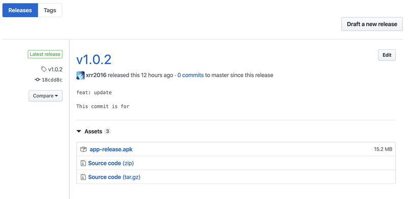 Use GitHub actions to continuously publish the shuttle app