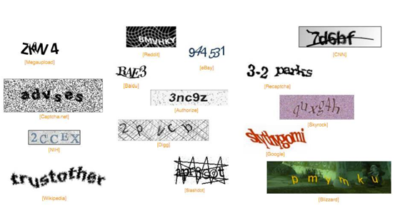 The past and present life of captcha: from text recognition to insensitive verification