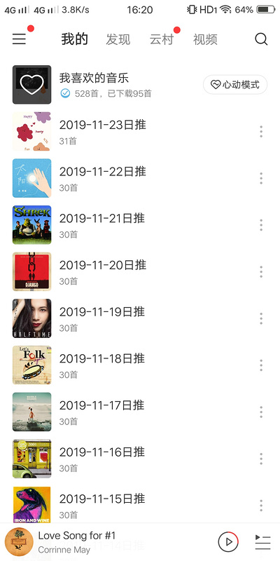 Using GitHub actions to automatically back up the daily recommended songs of Netease cloud music